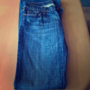 7 for all mankind flare jeans great cond.